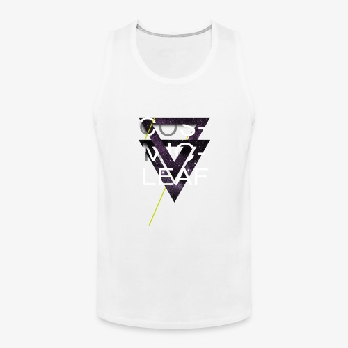 Cosmicleaf Triangles - Men's Premium Tank Top
