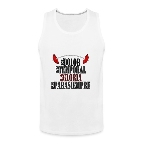 GYM - DOLOR TEMPORAL - Tank top premium hombre