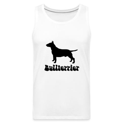 Bullterrier Logo - Männer Premium Tank Top