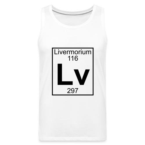 Livermorium (Lv) (element 116) - Men's Premium Tank Top
