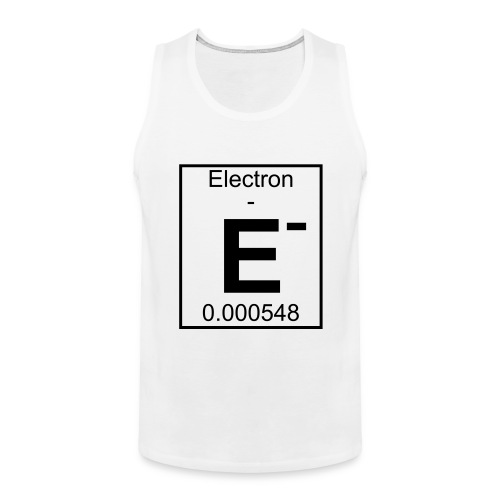 E (electron) - pfll - Men's Premium Tank Top