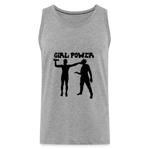 GIRL POWER hits - Tank top premium hombre