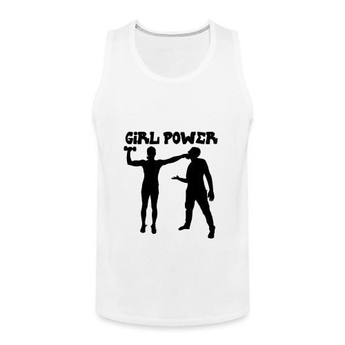 GIRL POWER hits - Tank top premium hombre