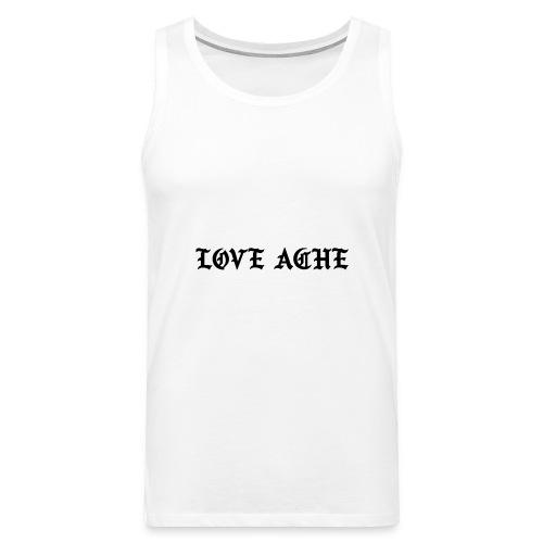 LOVE ACHE - Mannen Premium tank top