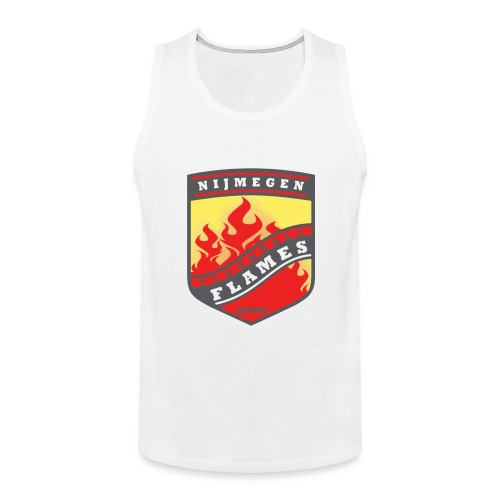 t-shirt kid-size zwart - Mannen Premium tank top