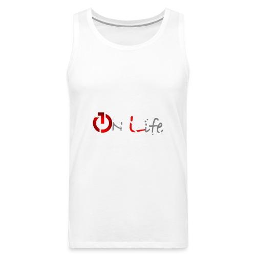 OnLife Logo - Débardeur Premium Homme
