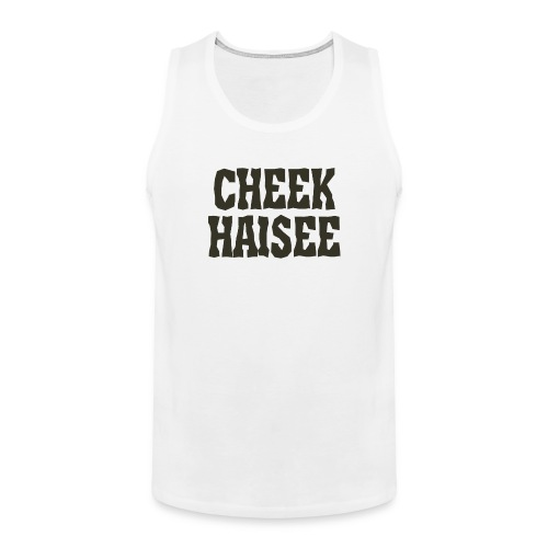 cheek haisee png - Men's Premium Tank Top