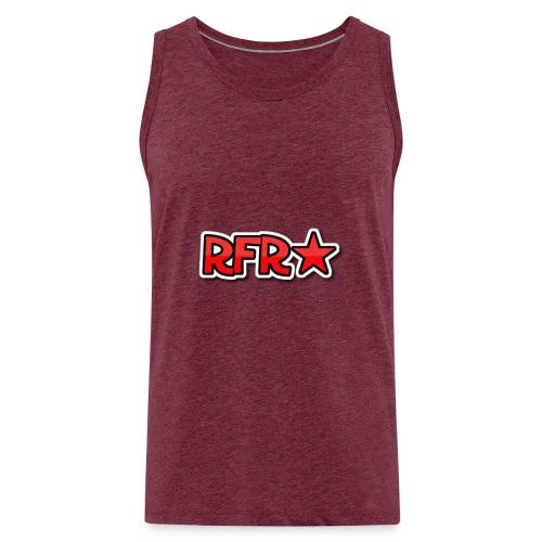 rfr logo - Miesten premium hihaton paita