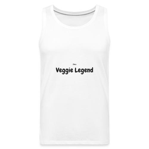 I'm a Veggie Legend - Men's Premium Tank Top