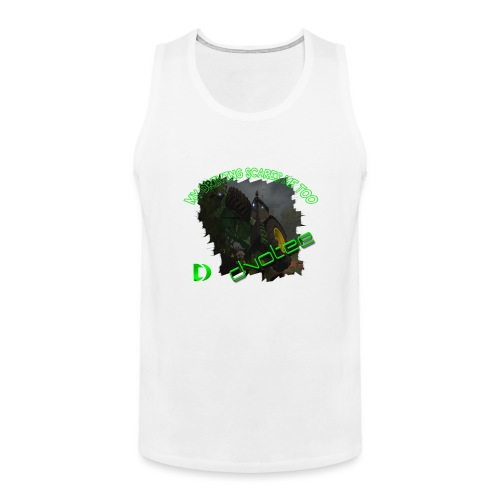 cleartlogotractor - Men's Premium Tank Top