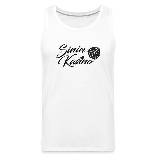 Sinin Kasino Fanituotteet - Miesten premium hihaton paita