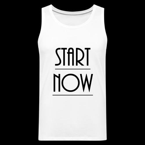 start now - Männer Premium Tank Top