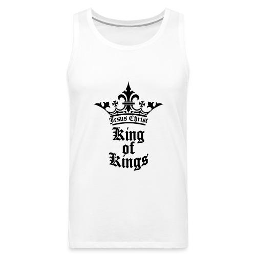 king_of_kings - Männer Premium Tank Top