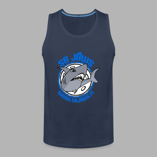 SB JAWS - Miesten premium hihaton paita