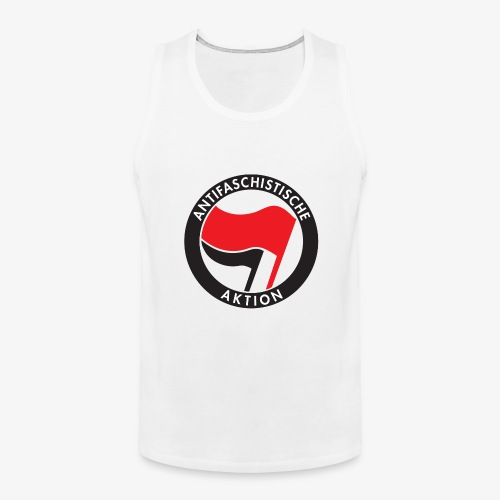 Atnifaschistische Action - Antifa Logo - Men's Premium Tank Top