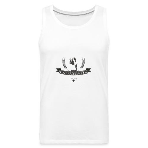 Talvirieha - Miesten premium hihaton paita