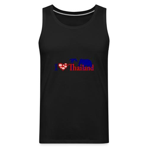 I love Thailand - Men's Premium Tank Top