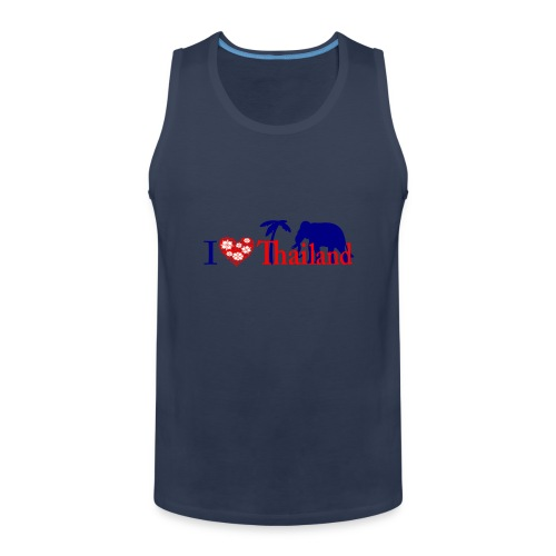 I love Thailand - Men's Premium Tank Top
