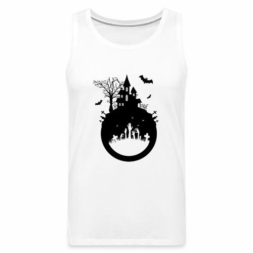 Haunted House - Halloween Design - Männer Premium Tank Top