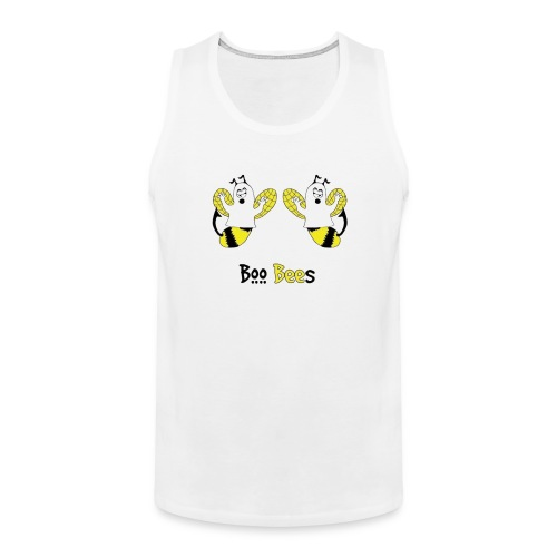 Boo Bees Halloween - Miesten premium hihaton paita