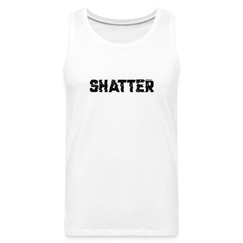 shatter - Männer Premium Tank Top