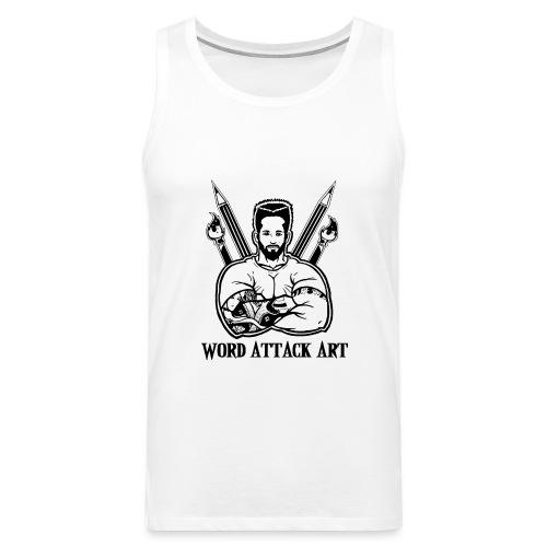 Word Attack Art - Männer Premium Tank Top