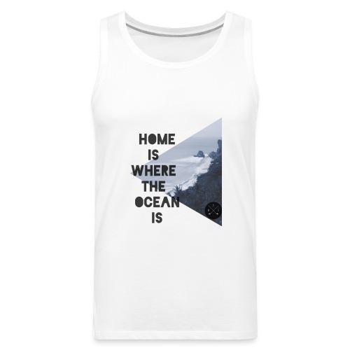 home is - Männer Premium Tank Top