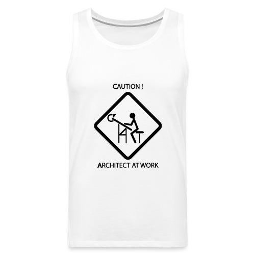 Architect at work - Canotta premium da uomo