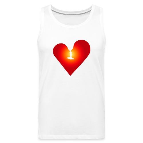 Ein Herz in Liebe - Männer Premium Tank Top