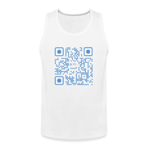 QR Maidsafe.net - Men's Premium Tank Top
