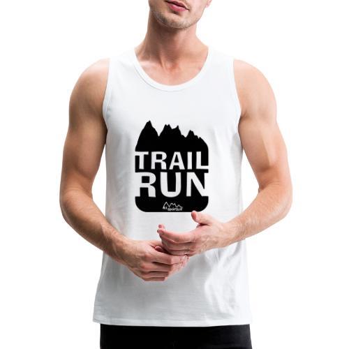 Trail Run - Männer Premium Tank Top