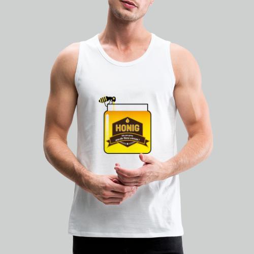 Honig ist lecker - Männer Premium Tank Top