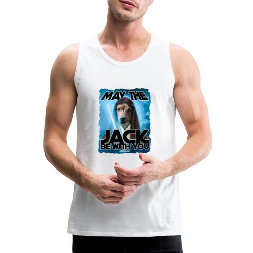 May the Jack be with you - Mannen Premium tank top