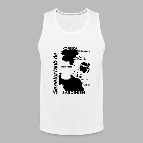 Korsika Sardinien Mori Shirt - Männer Premium Tank Top