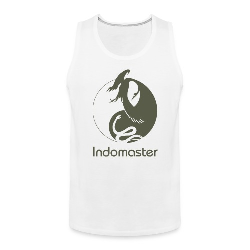 indomaster logo organic - Men's Premium Tank Top