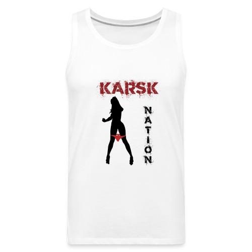 karsk2 - Premium singlet for menn