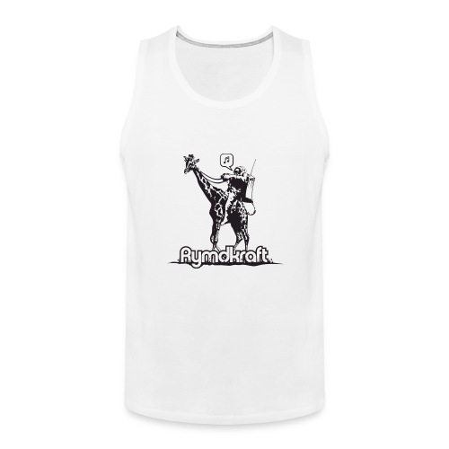 Rymdkraft Basic Happy Astronaut Tee - Men's Premium Tank Top