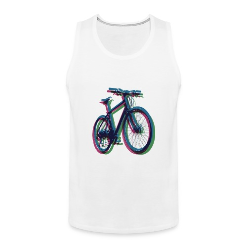 Bike Fahrrad bicycle Outdoor Fun Mountainbike - Men's Premium Tank Top