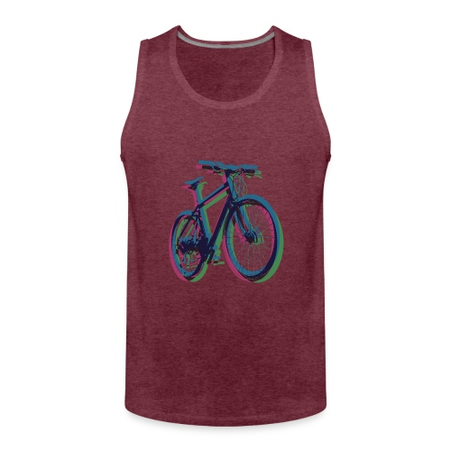 Bike Fahrrad bicycle Outdoor Fun Mountainbike - Men's Premium Tank Top