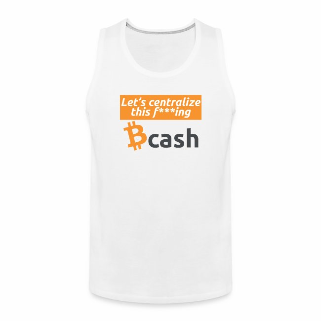 Bcash centralized