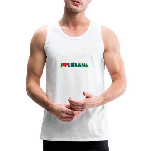 Love Liébana - Tank top premium hombre