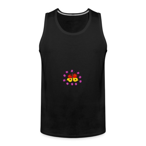 Butterfly colorful - Men's Premium Tank Top