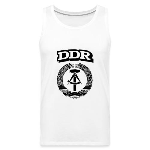 DDR T-paita - Miesten premium hihaton paita