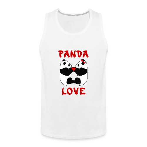 Panda Love - Men's Premium Tank Top