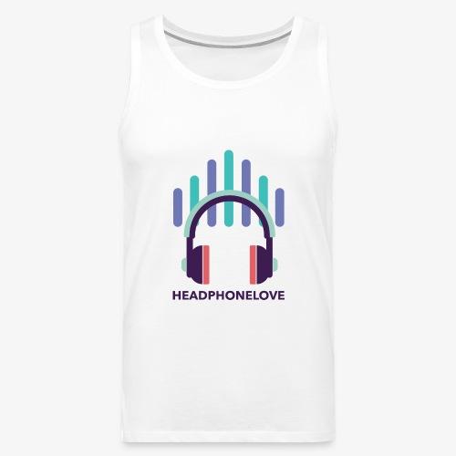 headphonelove - Männer Premium Tank Top