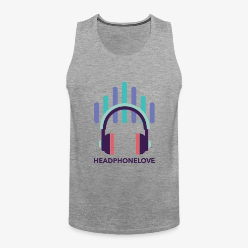 headphonelove - Männer Premium Tank Top