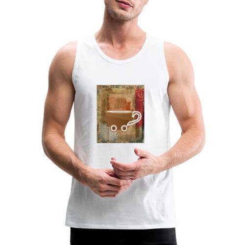 vintage coffee - Männer Premium Tank Top
