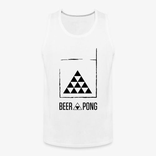 Beer Pong Table Triangle - Männer Premium Tank Top