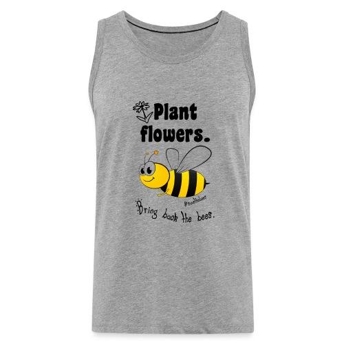 Bees8-2 Bringt die Bienen zurück! | Bookrebels - Men's Premium Tank Top