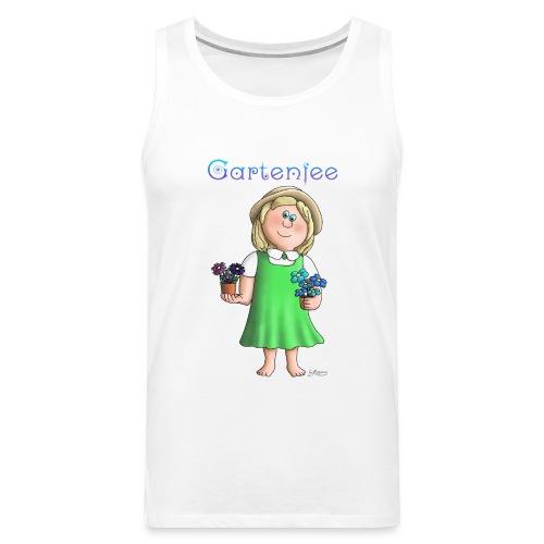Süßes Garten Mädchen - Gartenfee - Männer Premium Tank Top